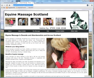 Horse Massage Scotland